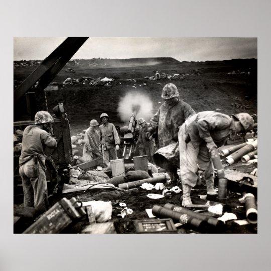WWII US Marines on Iwo Jima Poster   Zazzle.com  Usmc