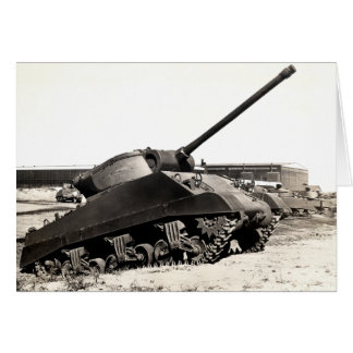 WWII US Tank Destroyer Greeting Card