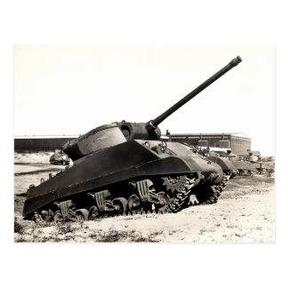 WWII US Tank Destroyer Postcard