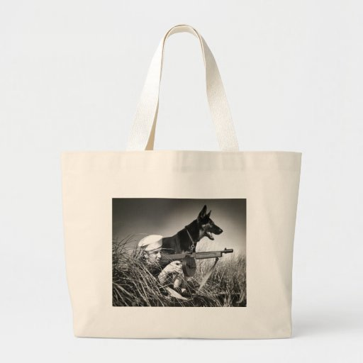 WWII USCG at Work Canvas Bag