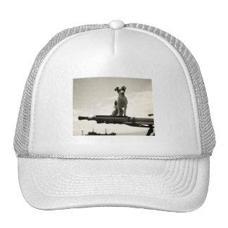 WWII USCG Dog named Kelly Trucker Hats