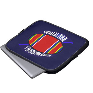 WWII Vet Brother Laptop Sleeve