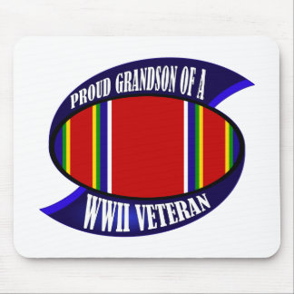 WWII Vet Grandson Mouse Pad