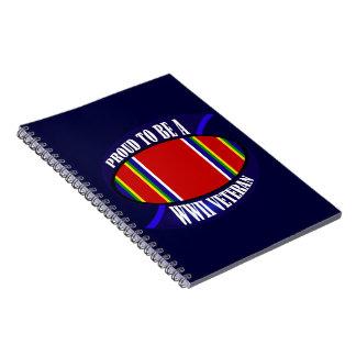 WWII Vet Spiral Notebook