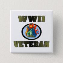 WWII Veteran Button