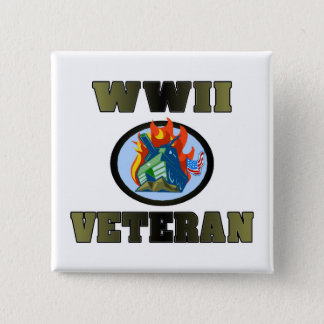 WWII Veteran Button