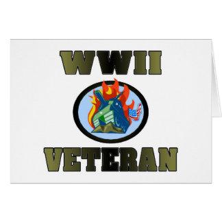WWII Veteran Greeting Cards