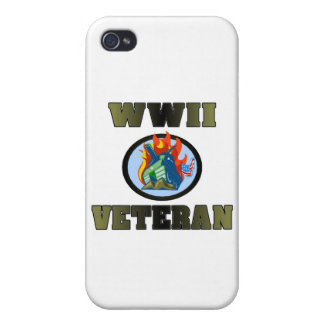 WWII Veteran Cover For iPhone 4