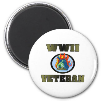 WWII Veteran Magnet