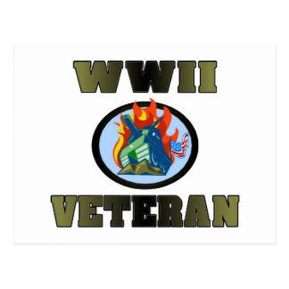 WWII Veteran Postcard