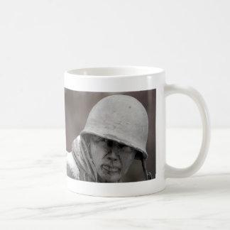 WWII Veteran Statue Coffee Mug