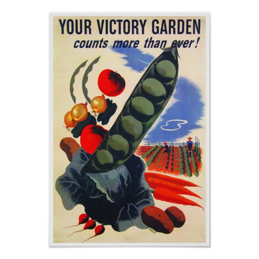 WWII Victory Garden Posters