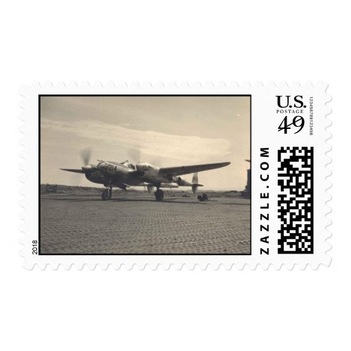 WWII Vintage Aircraft Postage