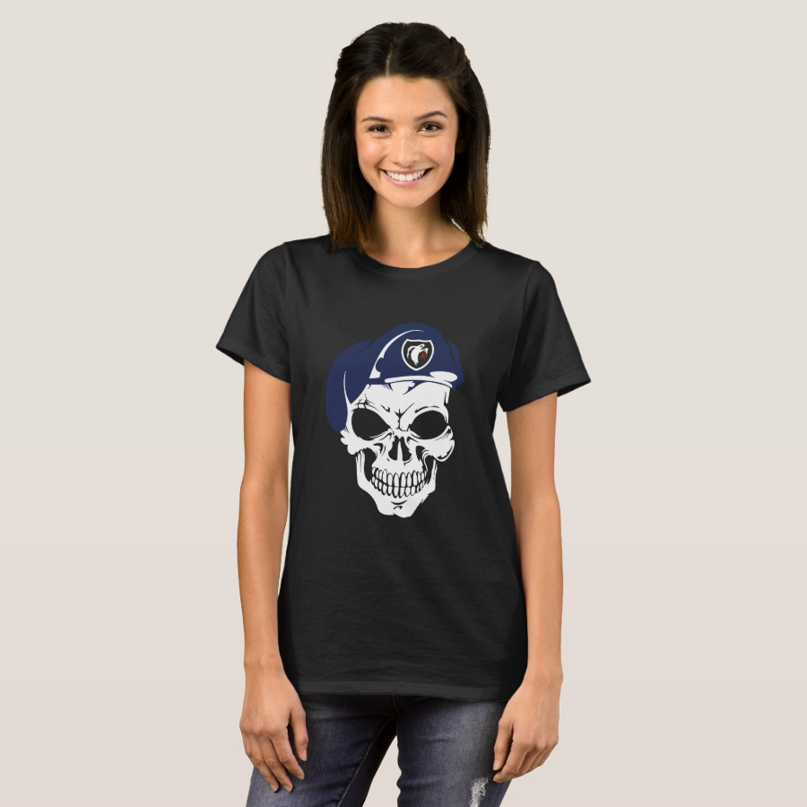 WWII Vintage Ghost Army Skull 23rd World War 2 T-Shirt - Best Selling Long-Sleeve Street Fashion Shirt Designs