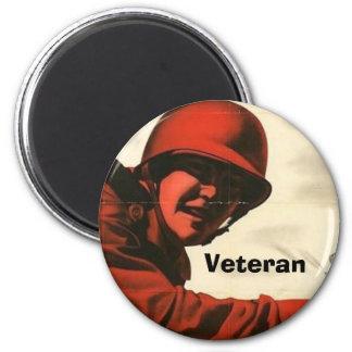 WWII Vintage Poster Magnet