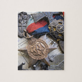 WWII War Service Medals Puzzle