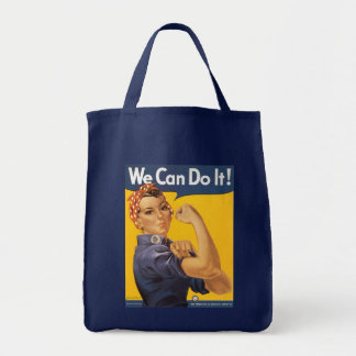 WWII We Can Do It! - Canvas Bag