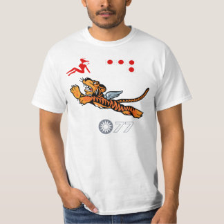 WWII Wing Art (Flying Tigers) T-Shirt