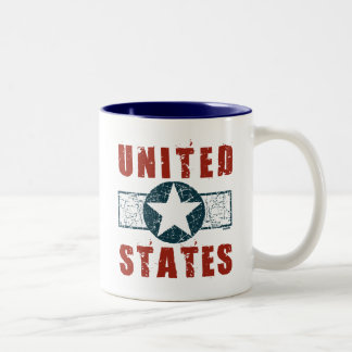 WWII wing markings Two-Tone Coffee Mug