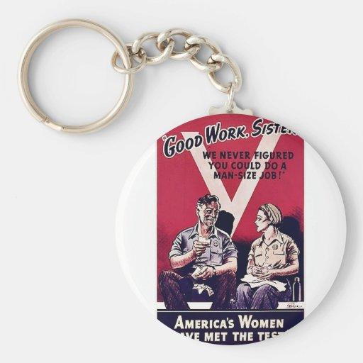 Wwii Women Keychains