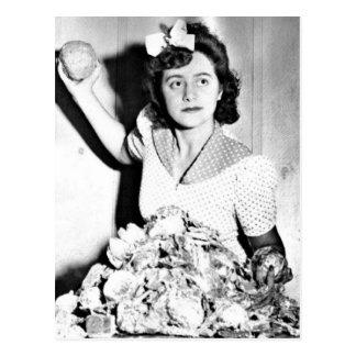 WWII Women on the Homefront/War Effort Postcard