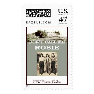 WWII Women Welders Postage Stamp