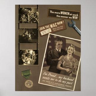 WWII Working Women Scrapbook Print