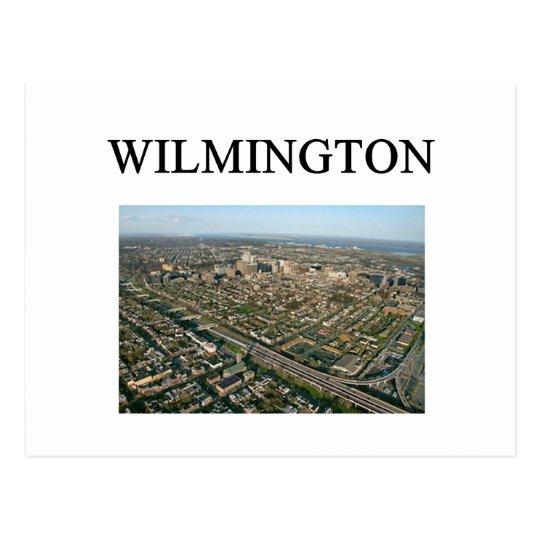 Wwilmington delaware postcard