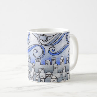 WWindy Cityscape Coffee Mug