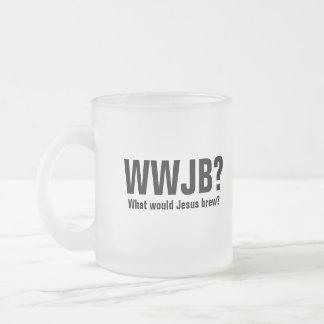 ¿WWJB? ¿Qué Jesús elaboraría cerveza? Taza De Café