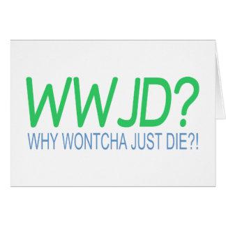 WWJD CARDS