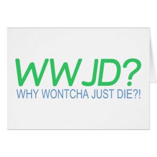 WWJD CARD