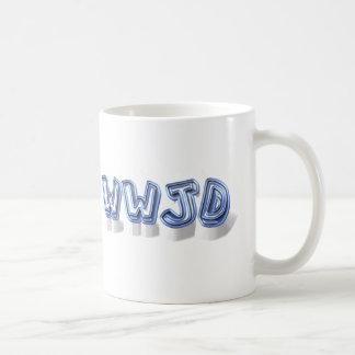 wwjd coffee mug