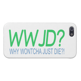 WWJD iPhone 5 PROTECTOR