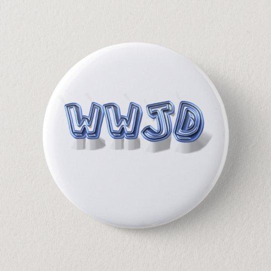 wwjd pinback button