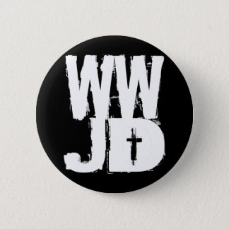 WWJD What Would Jesus Do Pinback Button