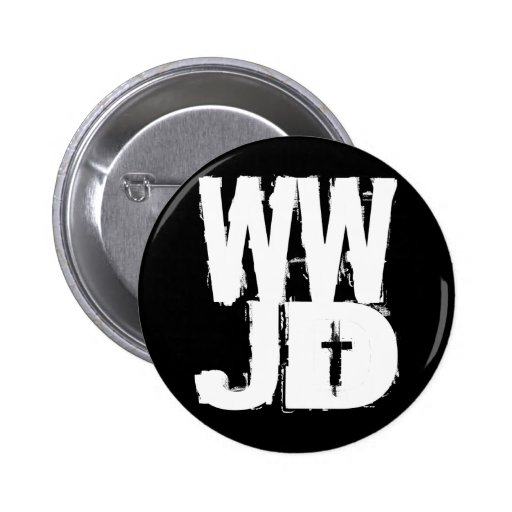 WWJD What Would Jesus Do Pins