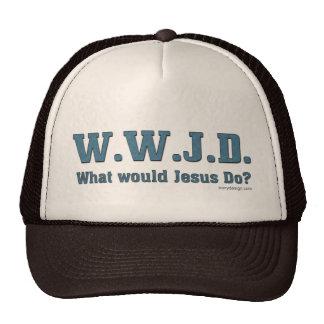 WWJD? What Would Jesus Do? Trucker Hat