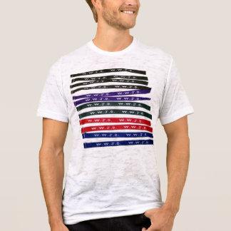 WWJD wristband print T-Shirt