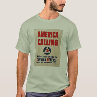 WWll Civil Defense T-Shirt