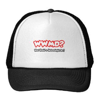 WWMD What Would a Meteorologist Do Trucker Hat
