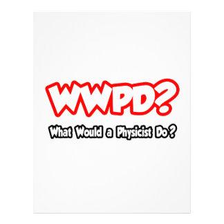 ¿WWPD… qué un físico haría? Membrete A Diseño