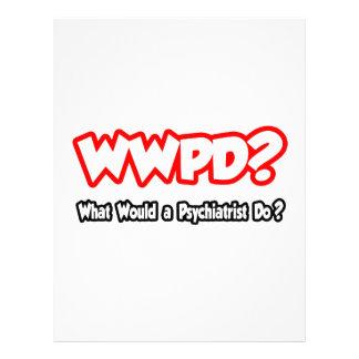 ¿WWPD… qué un psiquiatra haría? Plantilla De Membrete