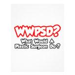 ¿WWPSD… qué un cirujano plástico haría? Flyer Personalizado