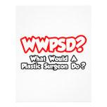 ¿WWPSD… qué un cirujano plástico haría? Plantillas De Membrete