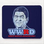 ¿WWRD, qué Reagan haría? Alfombrilla De Raton