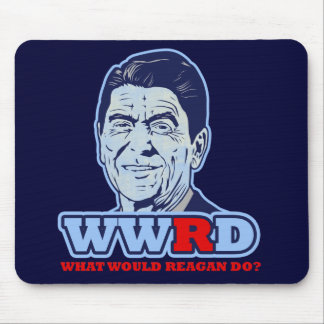 WWRD, What would Reagan Do? Mouse Pad