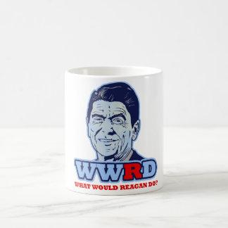 WWRD, What would Reagan Do? Mugs