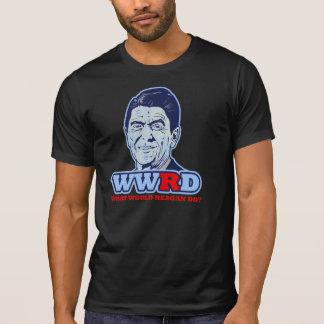 WWRD, What would Reagan Do? Tshirts