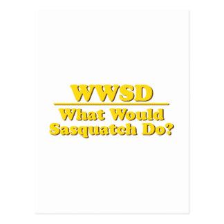 WWSD? POSTCARD